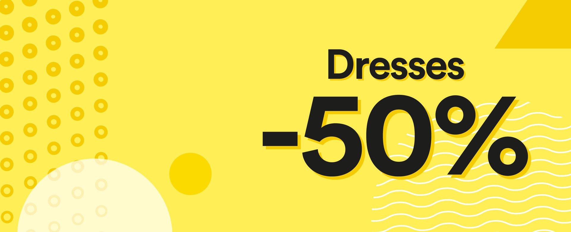 -50% auf Sommerkleider